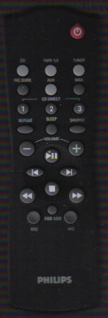 Philips RC282432/01 Remote Control